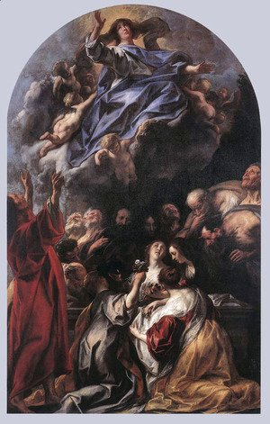 Jacob Jordaens - Assumption of the Virgin