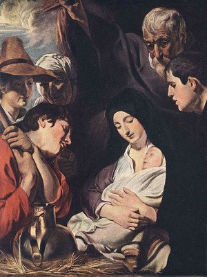 Jacob Jordaens - Adoration of the Shepherds