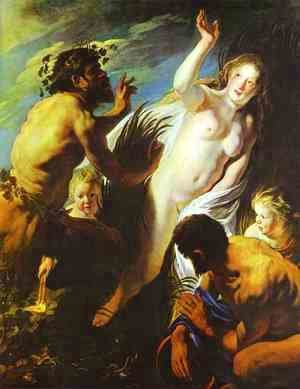 Jacob Jordaens - Pan and Syrinx