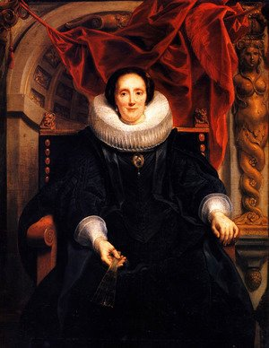Portrait of Catharina Behagel