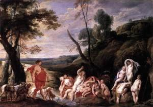Jacob Jordaens - Diana and Actaeon