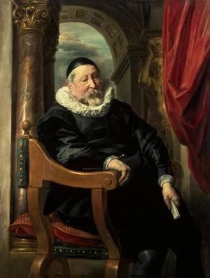 Jacob Jordaens - Portrait of an Old Man