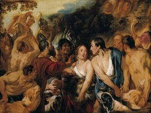 Jacob Jordaens - Meleager and Atalante 1618