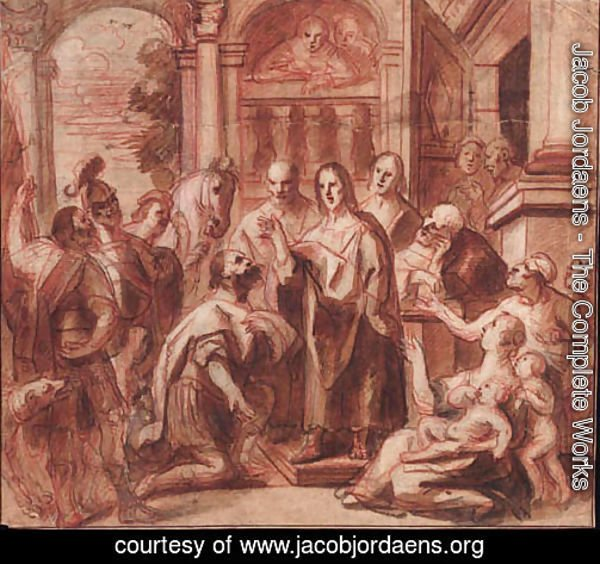 Christ and the Headman of Capernaum