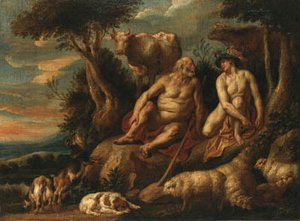 Jacob Jordaens - Mercury and Argus