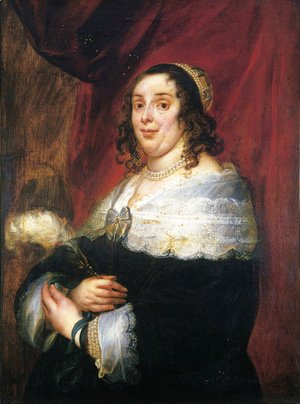 Jacob Jordaens - Portrait of a lady