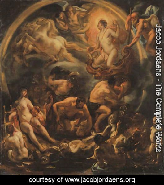 Jacob Jordaens - The Triumph of Apollo