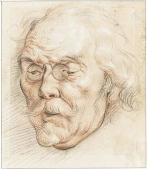 Head Of An Elderly Man (Adam Van Noort)