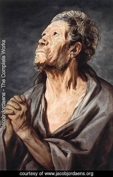 Jacob Jordaens - An Apostle