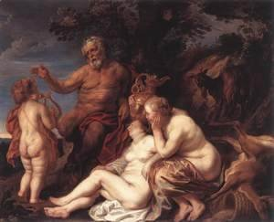 Jacob Jordaens - Education Of Jupiter