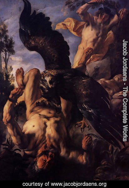 Jacob Jordaens - Prometheus Bound