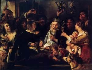 Jacob Jordaens - The Bean King