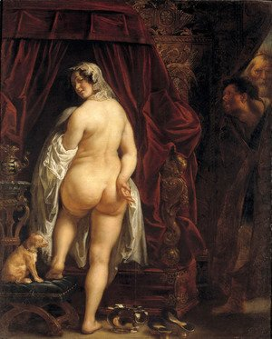Jacob Jordaens - King Candaules of Lydia Showing his Wife to Gyges