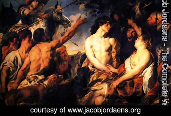 Jacob Jordaens - Meleager and Atalante