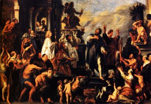 Jacob Jordaens - Apostles Paul and Barnabas in Lystra