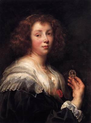 Jacob Jordaens - Portrait of the Artist's Daughter Elizabeth 3