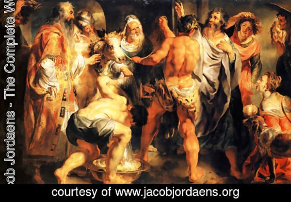 Jacob Jordaens - The Apostles, St. Paul and St. Barnabas at Lystra