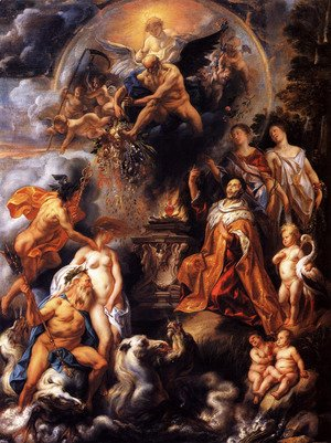 Jacob Jordaens - Allegory of the Peace of Westphalia