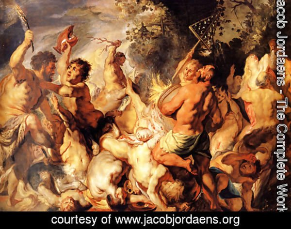 Jacob Jordaens - Lapiths and the Centaurs