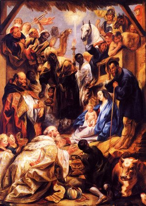 Jacob Jordaens - Adoration of the Magi