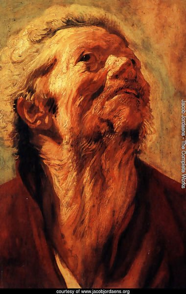 Study of the head of Abraham Grapheus