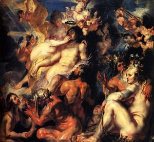 Jacob Jordaens - The Apotheosis of Aeneas