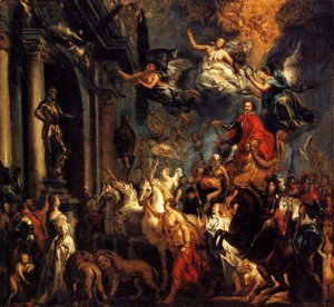 Jacob Jordaens - The Triumph of Frederic-Henri