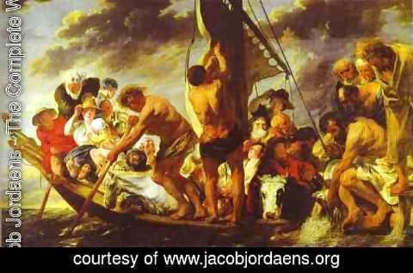 Jacob Jordaens - Ferry Boat to Antwerp