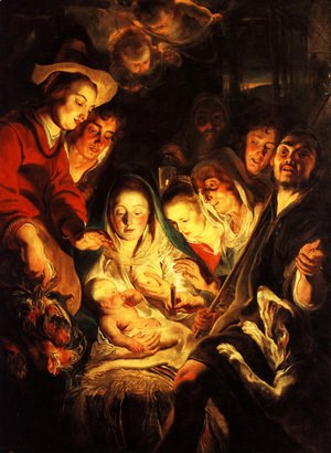 Jacob Jordaens - Adoration of the Shepherds 2