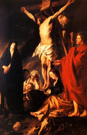 Jacob Jordaens - Christ on a Cross