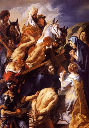 Jacob Jordaens - Christ Carrying the Cross