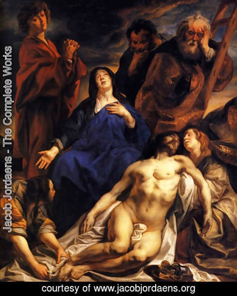 Jacob Jordaens - The Lamentation
