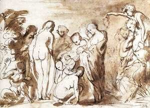 Jacob Jordaens - Allegory of Fertility (sketch)