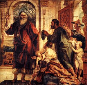 Jacob Jordaens - Usury is a great evil
