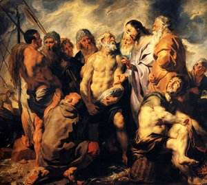 Jacob Jordaens - The mission of St. Peter
