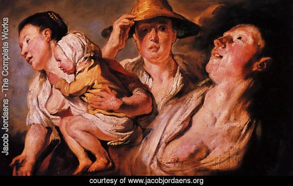 Study of three women and child