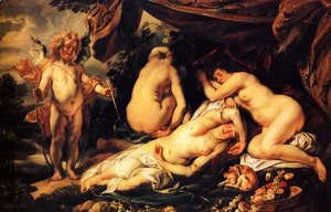Jacob Jordaens - Love of Cupid and Psyche 2