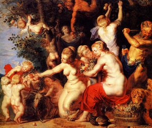 Jacob Jordaens - Homage to Pomona