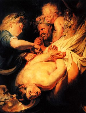Jacob Jordaens - Marsyas Flayed by Apollo