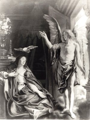 Jacob Jordaens - The Annunciation