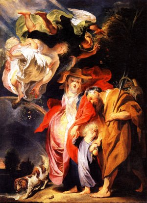 Jacob Jordaens - The Return from Egypt of the Holy Family