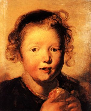 Jacob Jordaens - Child's head