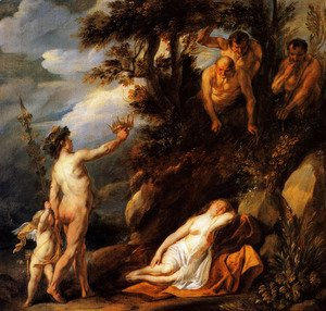 Jacob Jordaens - Bacchus and Ariadne