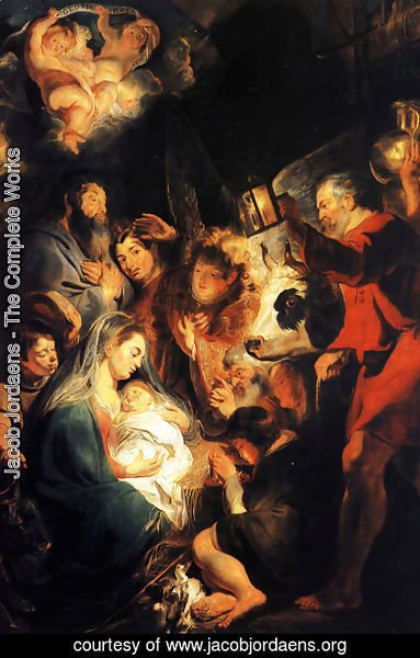 Jacob Jordaens - Adoration of the Shepherds 3