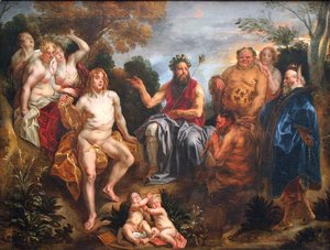 Jacob Jordaens - The Judgement of Midas 2