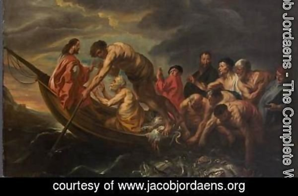 Jacob Jordaens - The Miraculous Draught of Fishes
