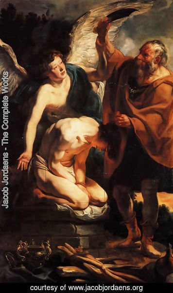 Jacob Jordaens - Sacrifice of Isaac