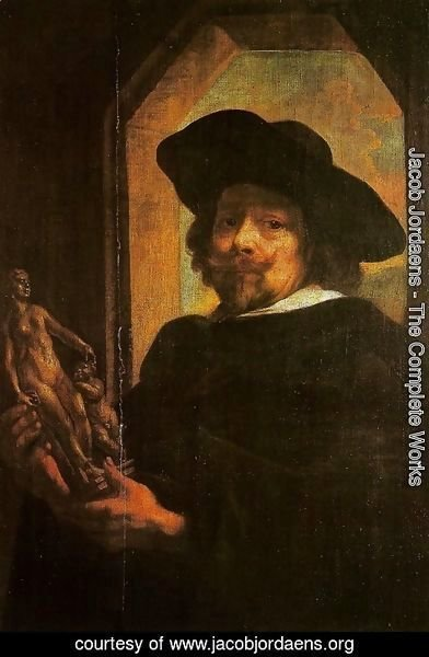 Jacob Jordaens - Self-Portrait