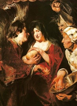 Jacob Jordaens - Temptation of the Magdalene